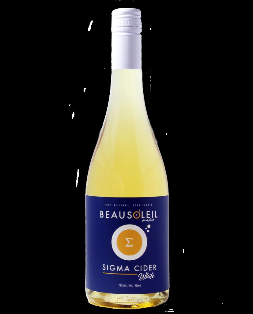 Photo: Bottle of Beausoleil Farmstead Sigma Cider White